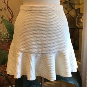 Zara Woman Knit Skater Skirt Size M